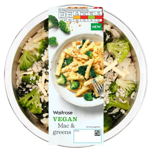 waitrose vegan mac and greens