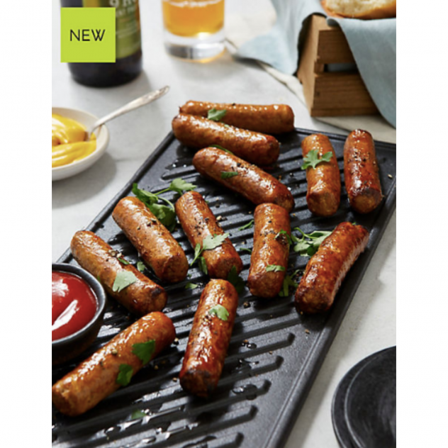 No Pork Sausoyges by Marks and Spencer