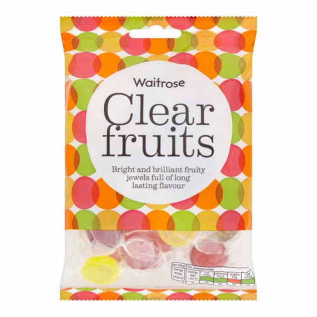 vegan sweets waitrose