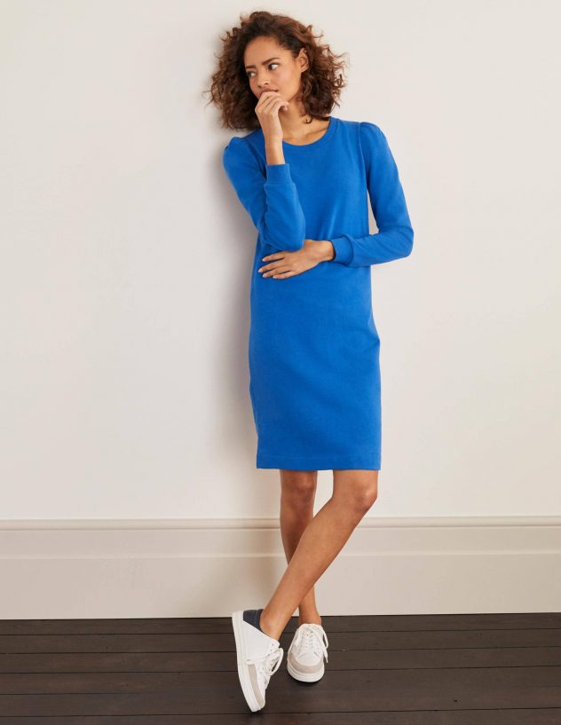puff ball dress in blue from boden