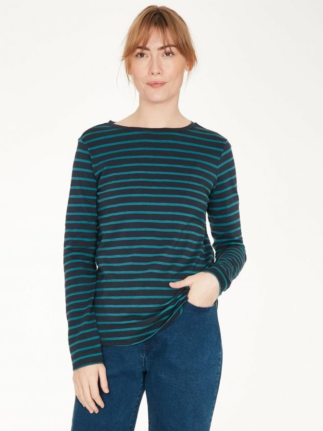 Betha Organic Cotton Striped Top